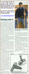 Link to Stanley Saperstein's Walking Stick Feature in Woodshop News - Jan 2009